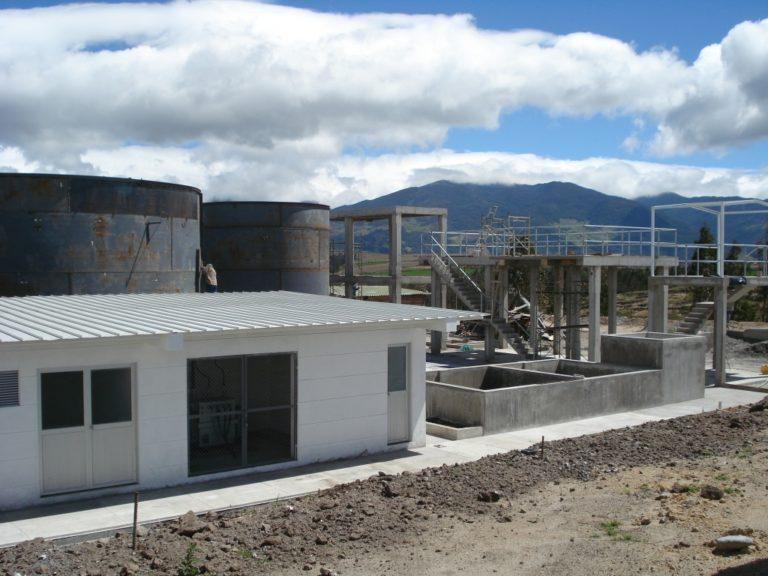 PTAR Alpina San Gabriel Ecuador