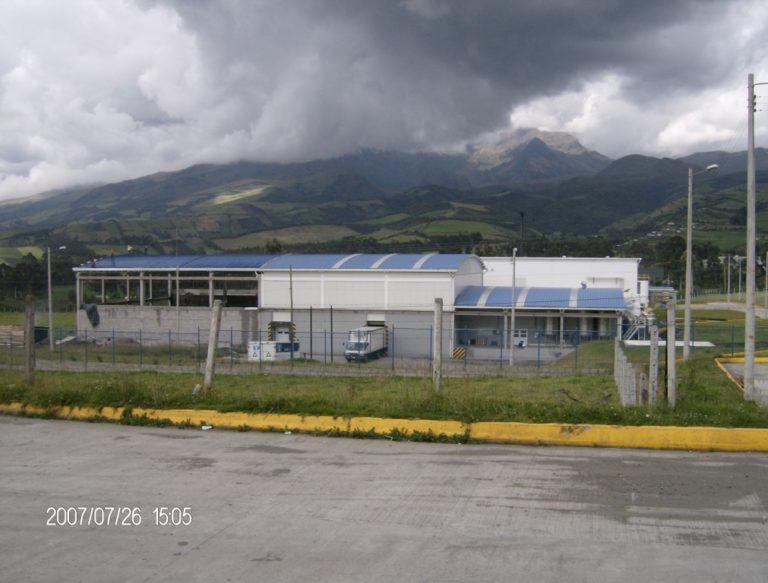 Planta Machachi Alpina Ecuador